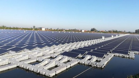 SMA inverters powering the largest single floating PV power plant in Jiangsu, China