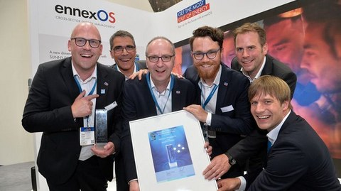 Twice Awarded: SMA Wins ees AWARD and smarter E AWARD at Intersolar 2018