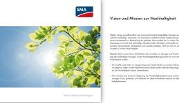 SMA Sustainability Mission Statement