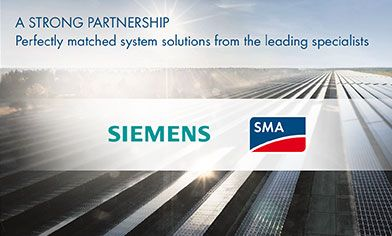 Cooperation SMA and Siemens