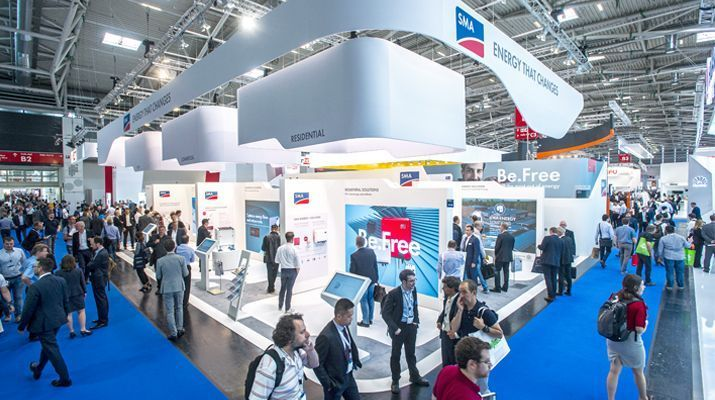 Intersolar Europe 2017: SMA Energy Solutions Impress Trade Fair Visitors