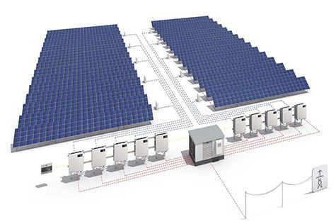 Centralized or decentralized. Which is the best layout for a large-scale PV power plant?